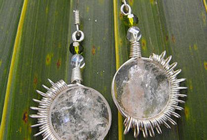 Spinning Sun earrings