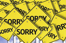 The Seven Deadly Sins of Apology