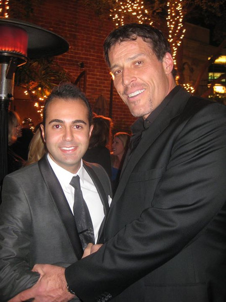 Facebook - An old picture with Tony Robb