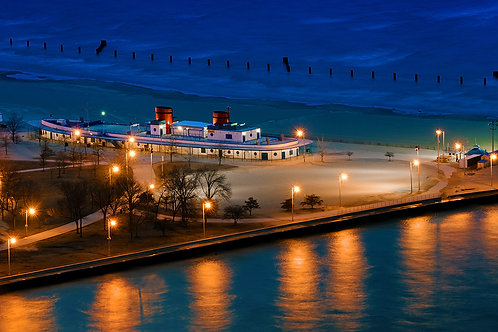 Nightfall at the pier - ARTLIT™