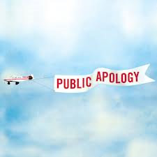 Apologies, especially public apologies, are never cost-free.
