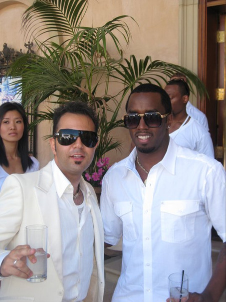Facebook - at P.jpg Diddy's White Party.
