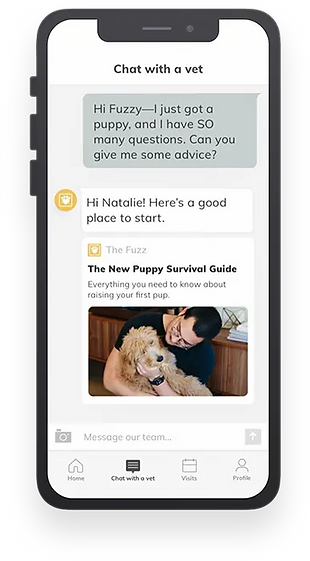 Fuzzy Pet Health Chat