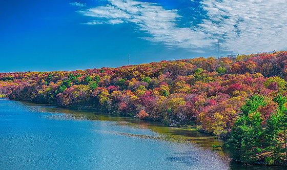 Autumn Rainbow Landscape - ARTLIT™