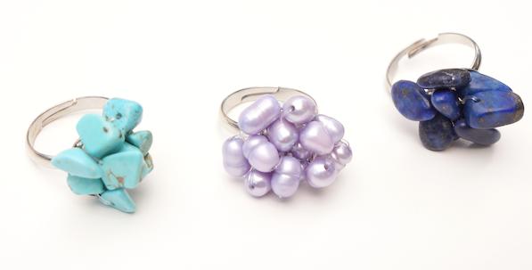 Blossom Ring Set of 3
