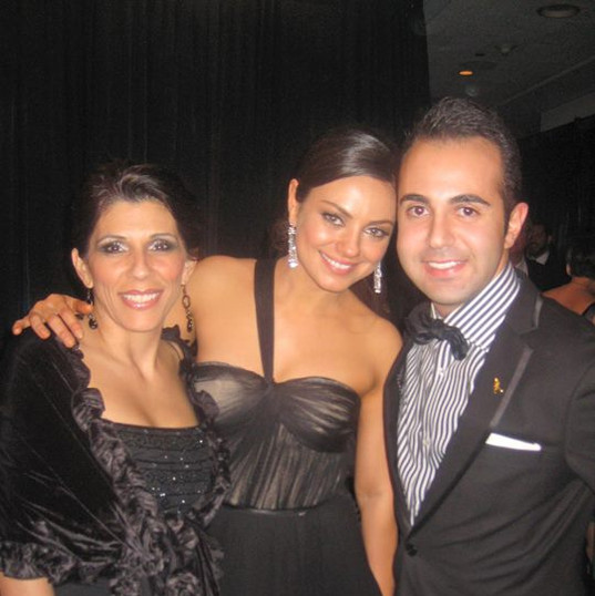 Emmys after party with Mila C