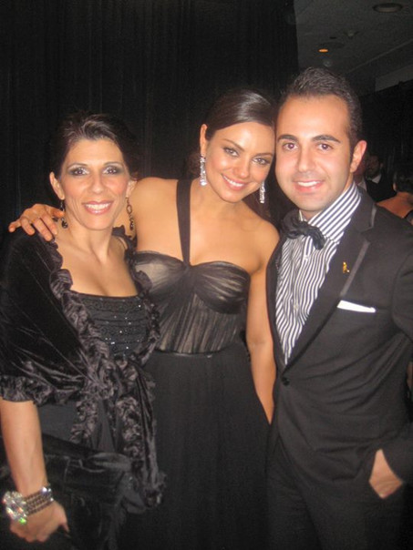 Facebook - Emmys after party with Mila C