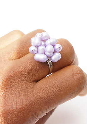 Pearl Blossom Ring