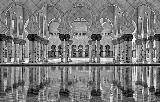 Grand Mosque B&W - ARTLIT™