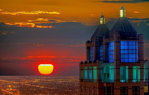 Fire Sunset - ARTLIT™