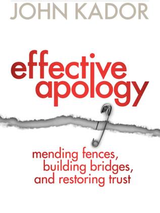 Effective Apology
