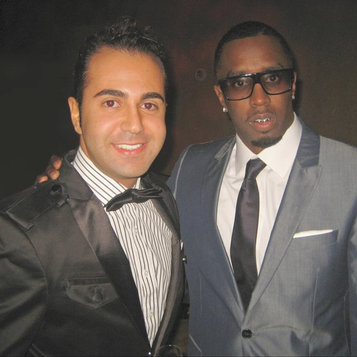 P. Diddy at the Grammys
