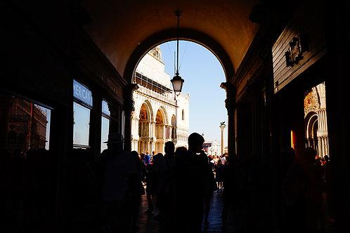 Silhouette of Venice - ARTLIT™