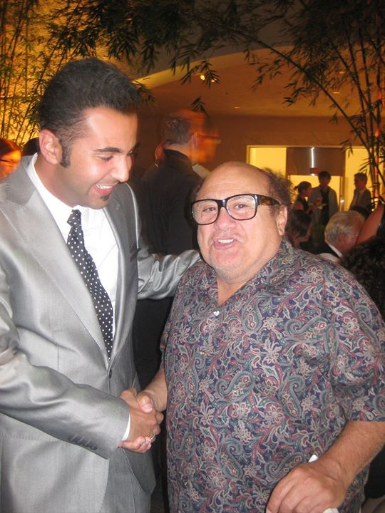 Facebook - Danny DeVito and crazy Solay