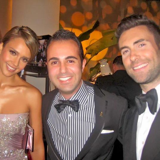 Jessica Alba me and Adam Levi