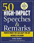 59 High Inpact Speeches cover Jan 2004.J
