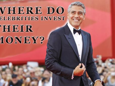 Where do celebrities invest their money?