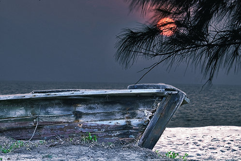 Moonset Sail  - ARTLIT™
