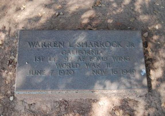 Warren Leslie Sharrock