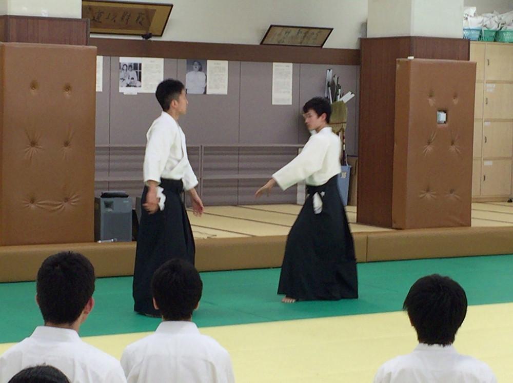 慶応大学の技の説明
