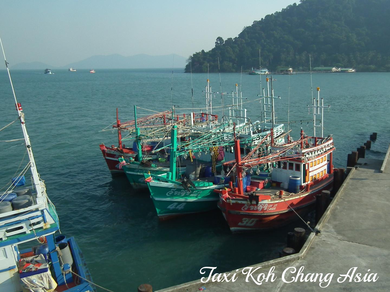 Fishing Boats Bang Bao Pier Koh Chang