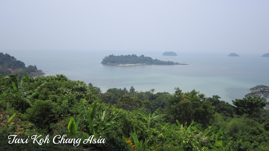 View from Kai Bae View Point Koh Chang