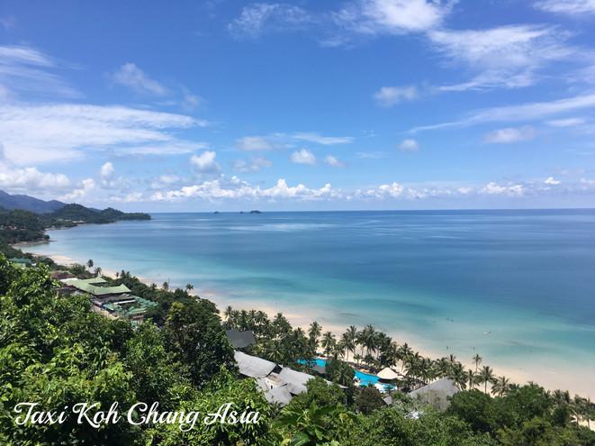 White Sand Beach View Point