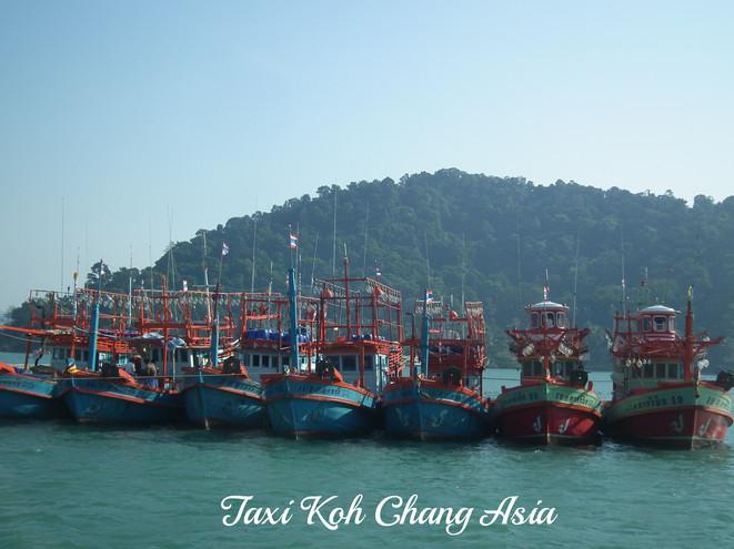 Fishing Boats at Bang Bao Pier Koh Chang