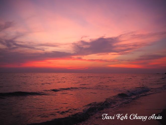 Sunset on Koh Chang