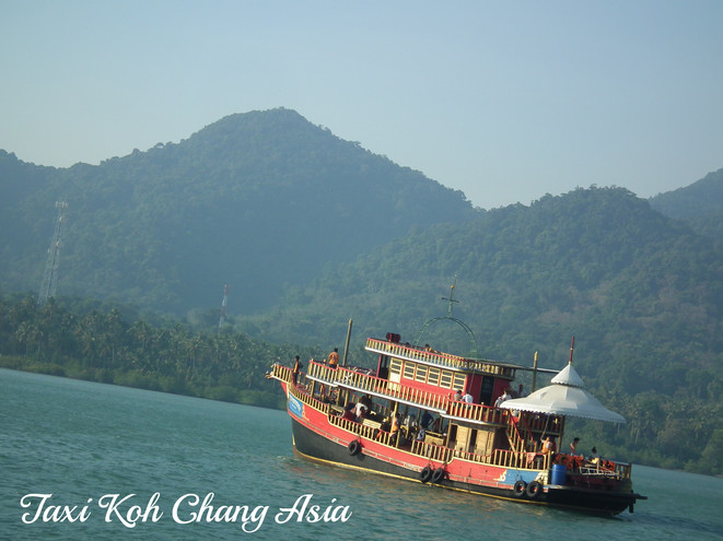 Tourist Boat Koh Chang