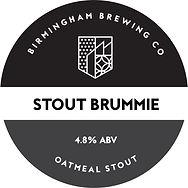 Stout Brummie Beer Pump Clip