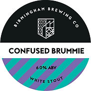 Confused Brummie Beer Pump Clip