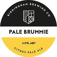 Pale Brummie Beer Pump Clip