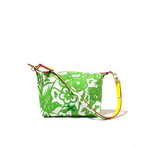 Mini Floral Verde - Tamanho Mini