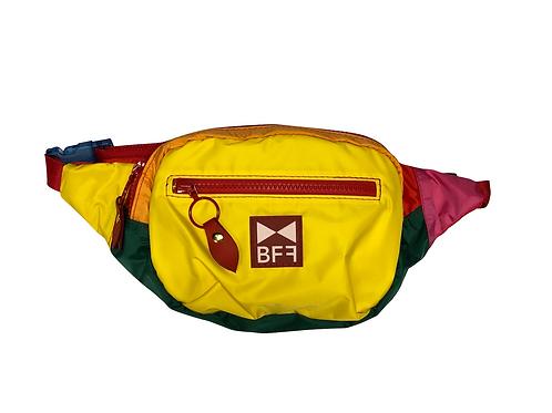 Pochete Nylon Colorida frente Amarela