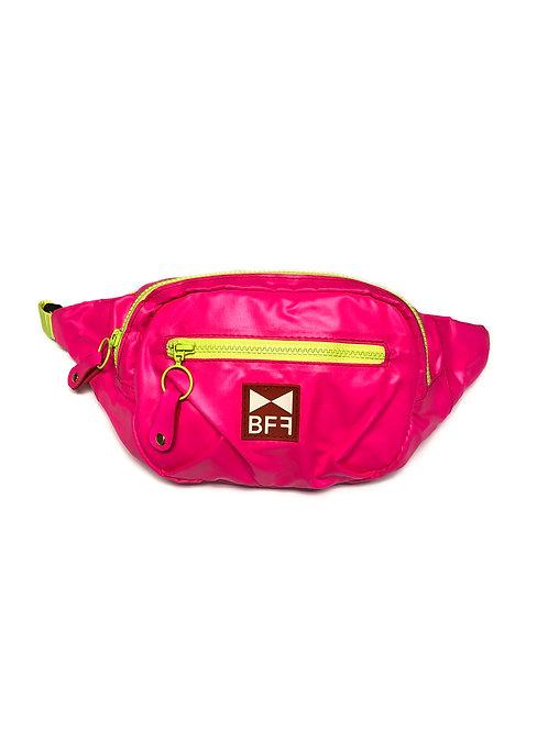 Pochete nylon Pink