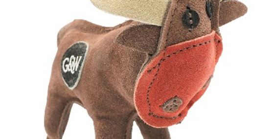 Green & Wilds - Rudy the Reindeer Dog Toy