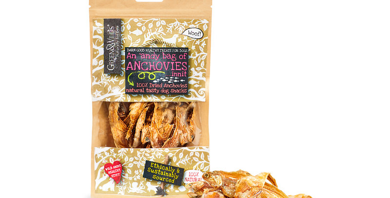 Green & Wilds - Andy Bag of Anchovies