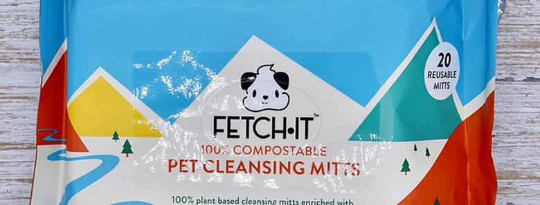 FETCH·IT - 100% Compostable Plant Based Mitts (Wipes)