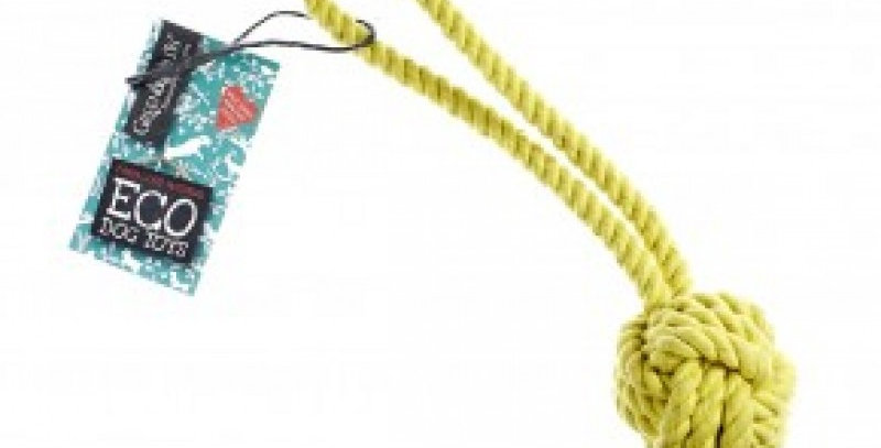 Green & Wilds - Rope Ball Dog Toy