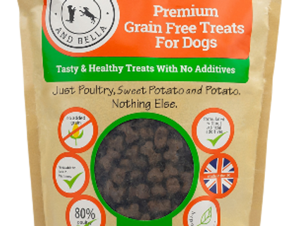 Bounce and Bella - Grain Free Poultry Training Treats 1