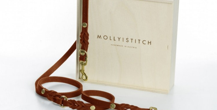 """Molly & Stitch - Sahara Cognac """"Butter"""" Leather 2x Adjustable"""