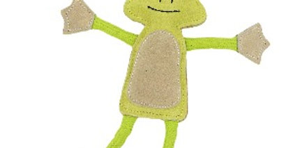 Green & Wilds - Francois the Frog Dog Toy