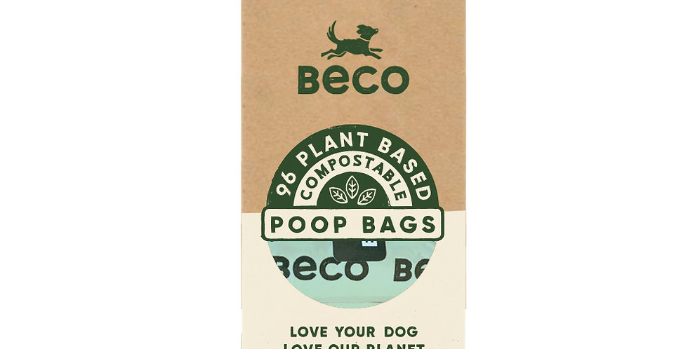 BECO - Compostable Poop Bags (96)