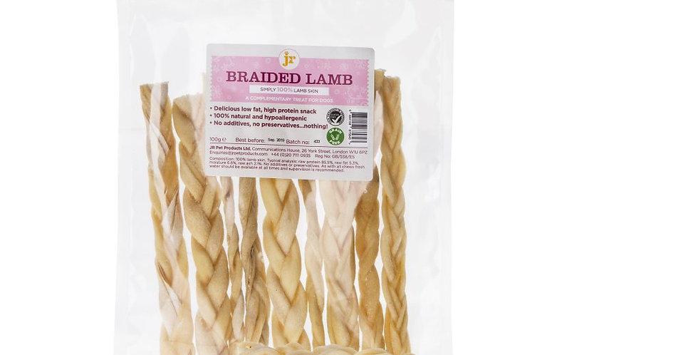 JR Pet Products - Braided Lamb Twists