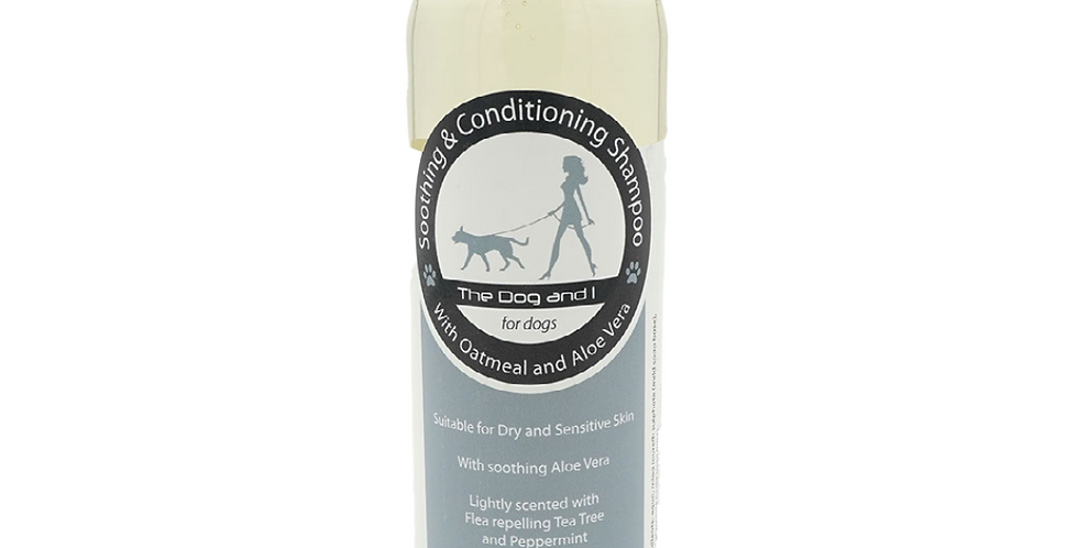 The Dog and I - Soothing & Conditioning Shampoo- Oatmeal & Aloe Vera 200ml