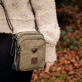 Canvas Dog Walking Bag