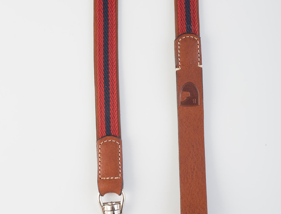 Buddys - Classic Baseball Leash -Red