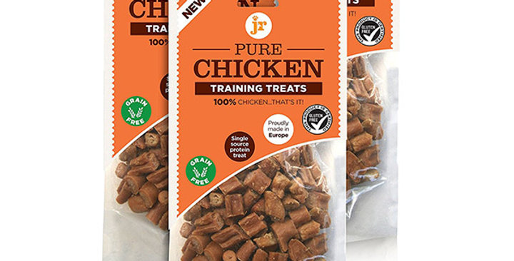 JR Pet Products Natural Chicken Training Treats - Pure Meat for puppies 4 weeks and over