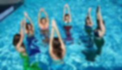 Mermaid Fitness Class